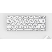 Клавиатура беспроводная Xiaomi MiiiW AIR85 Bluetooth Dual Mode (MWXKT01) MAC/iPad/PC (RU) White